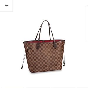 Authentic Louis Vuitton Neverfull MM (N41358) bag